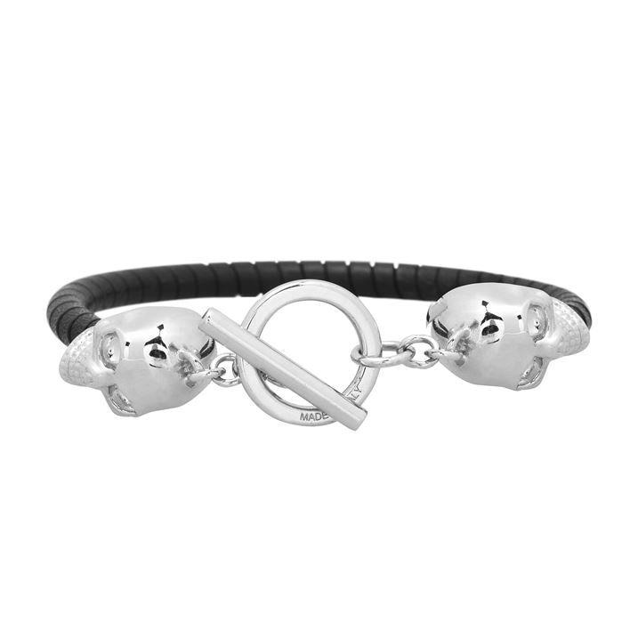 T Bar Skull Bracelet