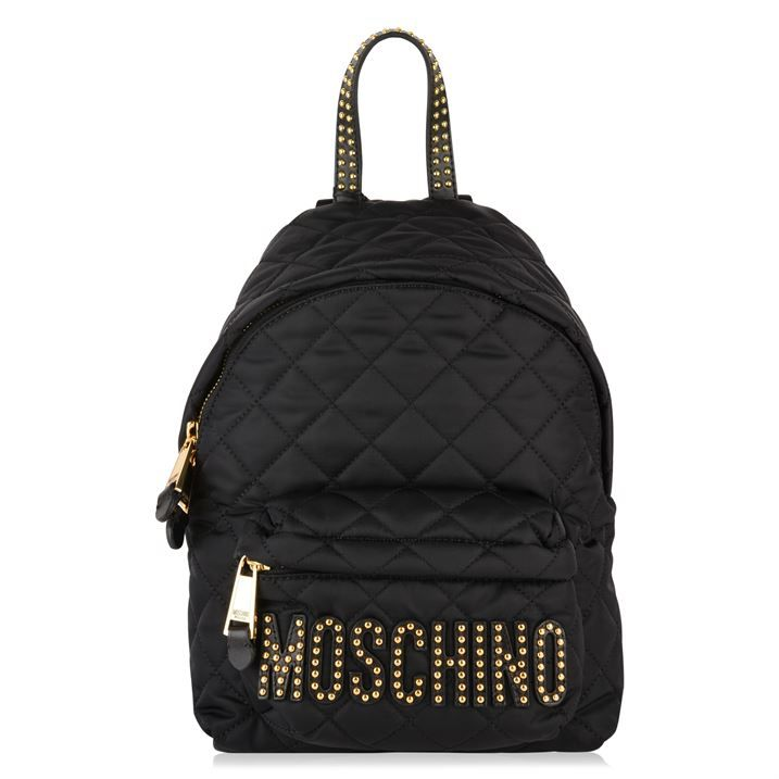 Quilted Stud Backpack
