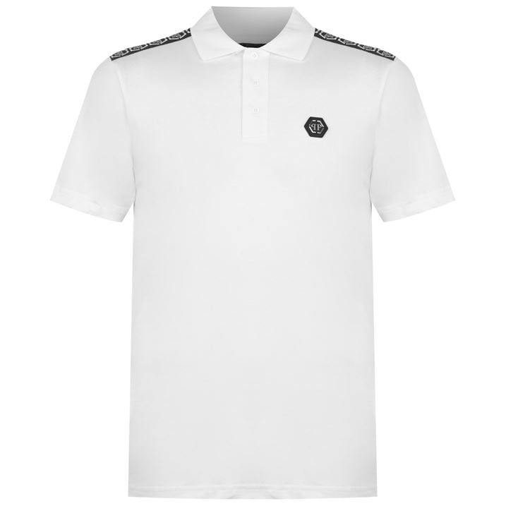 Tape Logo Polo Shirt