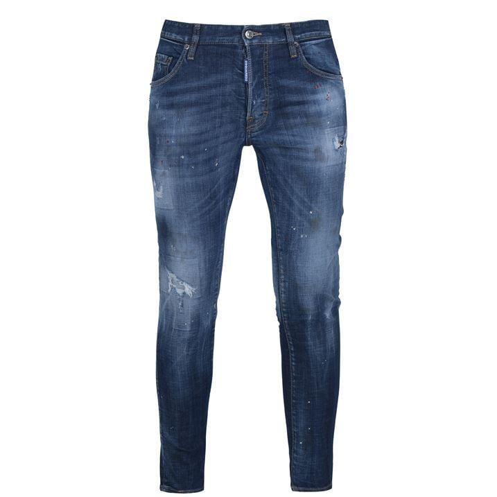 Skater Splatter Jean