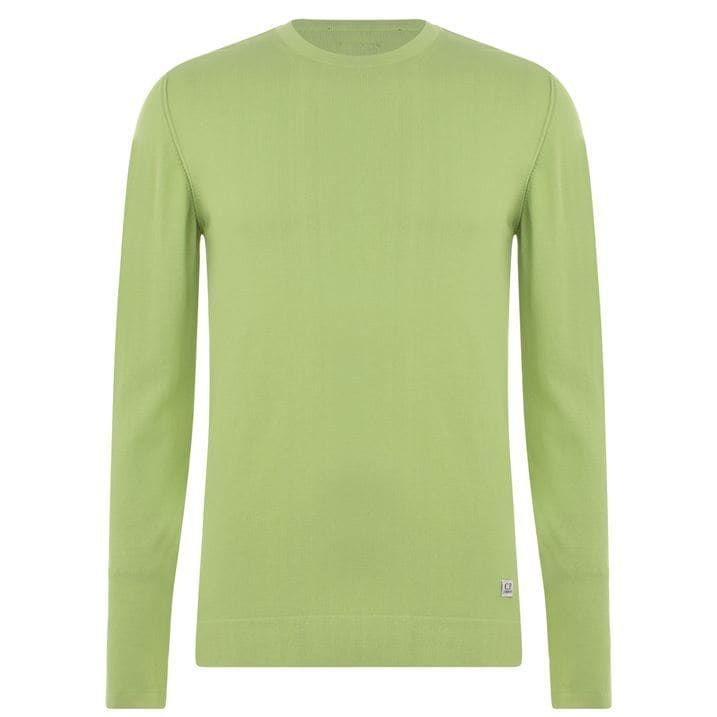 Lined Knit Sweatshirt
