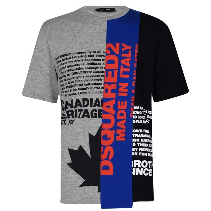 Heritage Tri Logo T Shirt