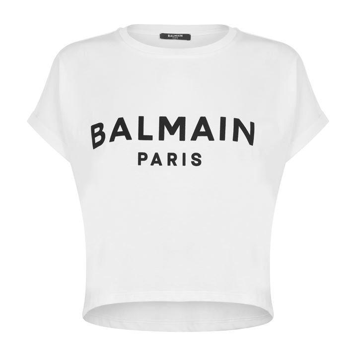 Cropped Logo T Shirt