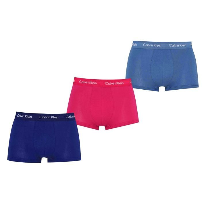 3 Pack Low Rise Trunks