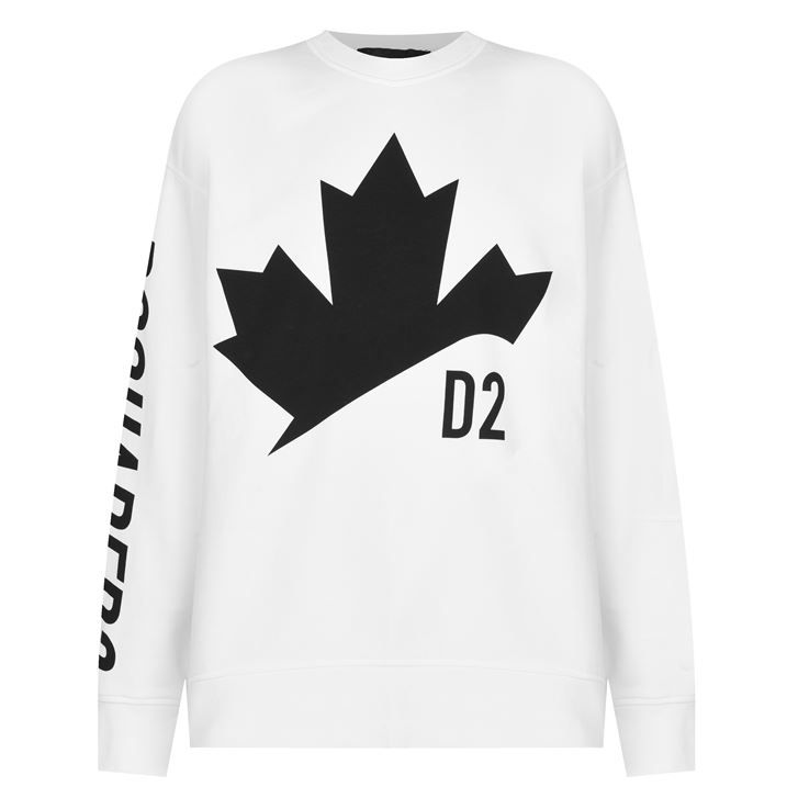 Leaf Slouch Sweatshirt