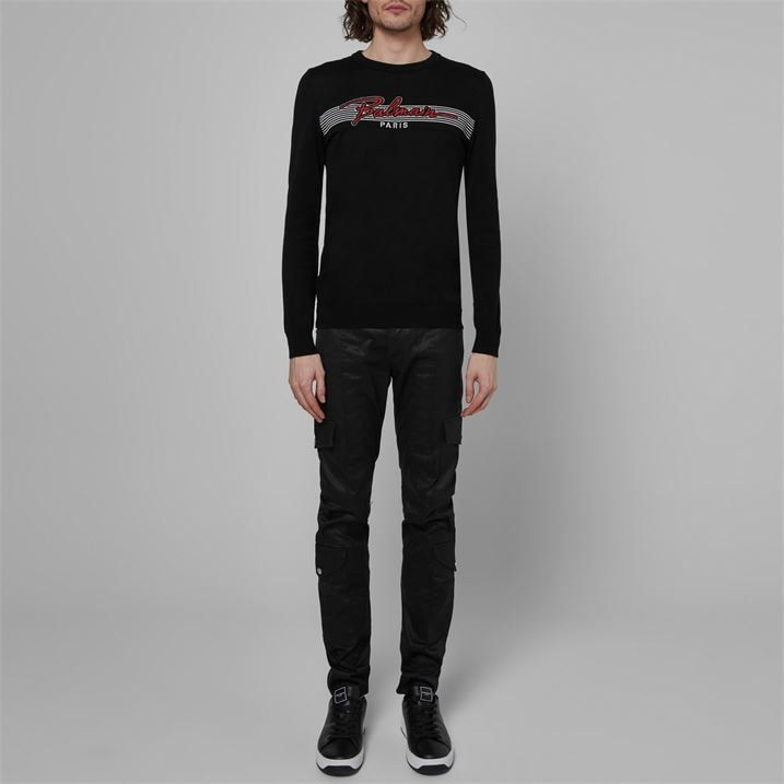 Balmain Signature Knitted Sweater
