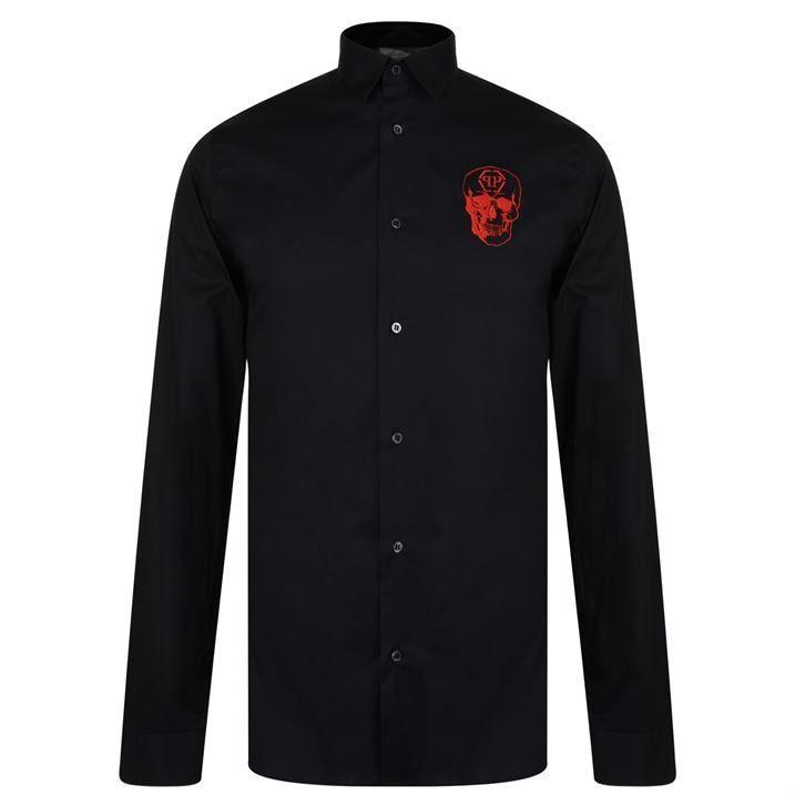 Skull Long Sleeve Shirt