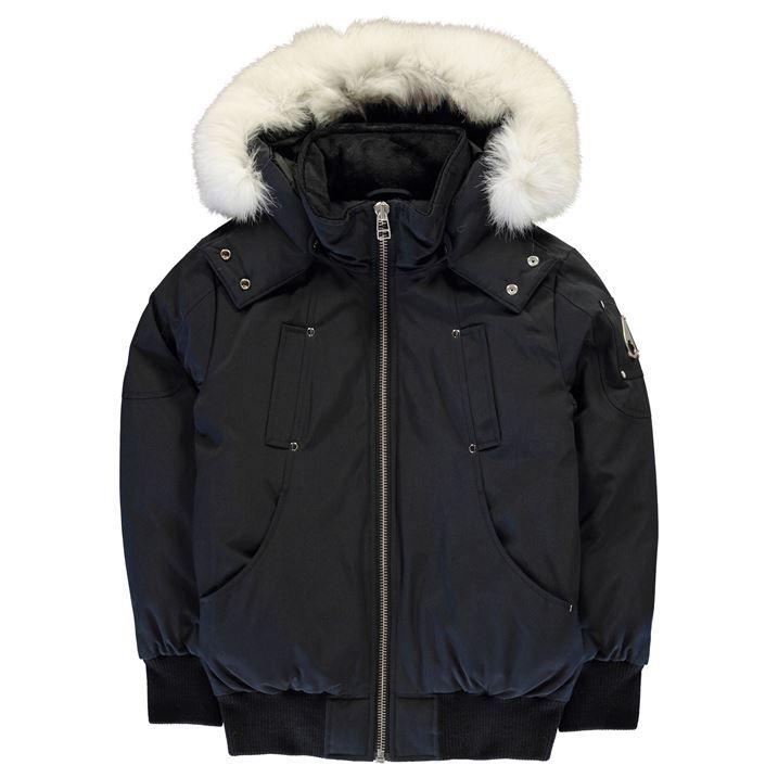 Junior Unisex Hooded Bomber Jacket