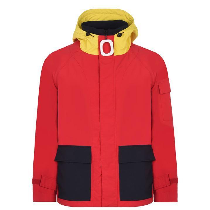 Pull Hooded Rain Jacket
