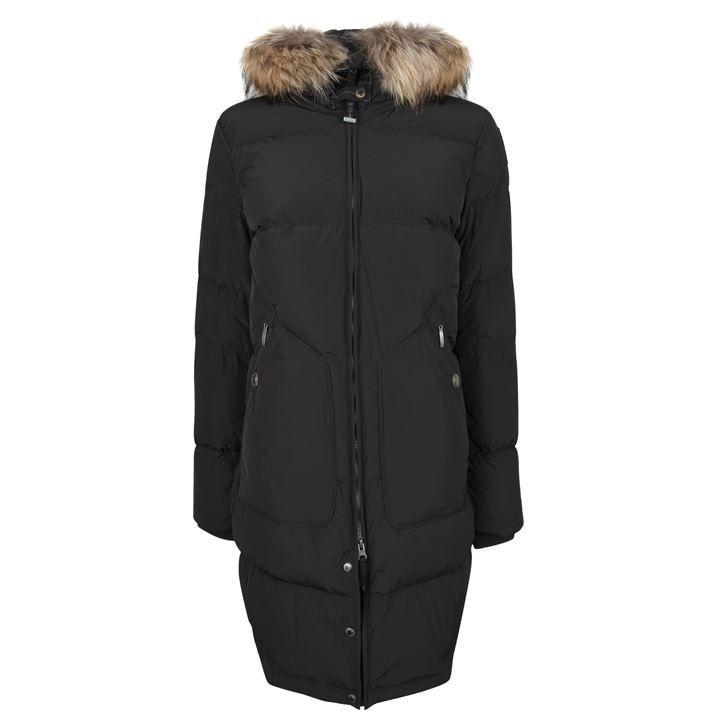 Light Long Bear Coat