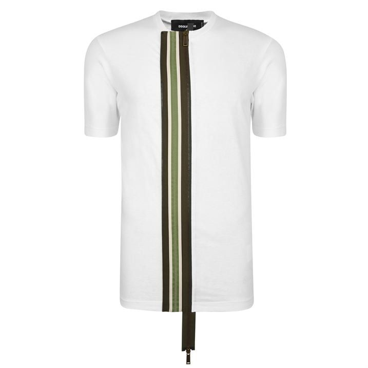 Zip Front T Shirt