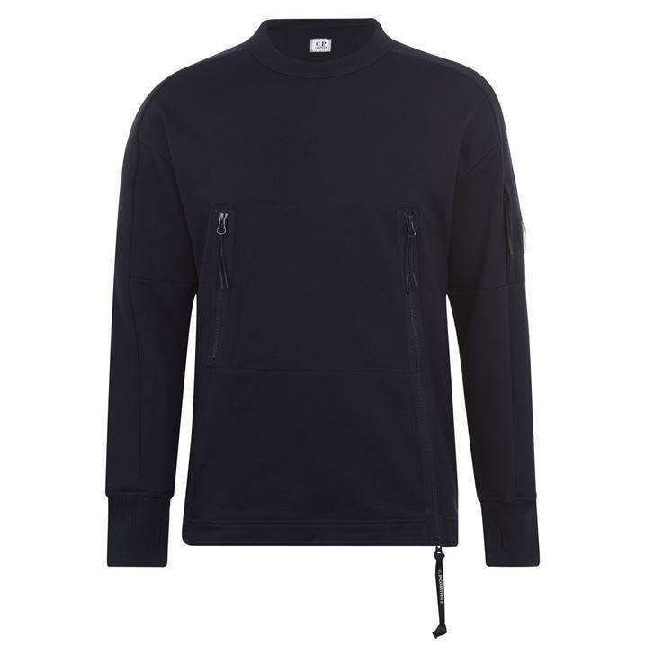 Lens Crew Neck Dia Fleece Sweatshirt