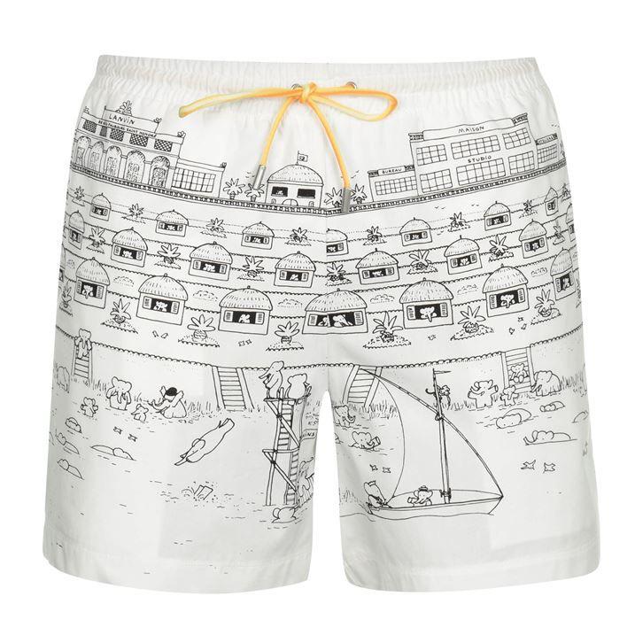 Lanvin Board Shorts