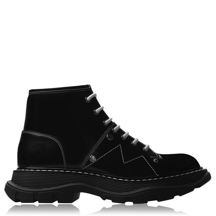 Lace Up Tread Boots