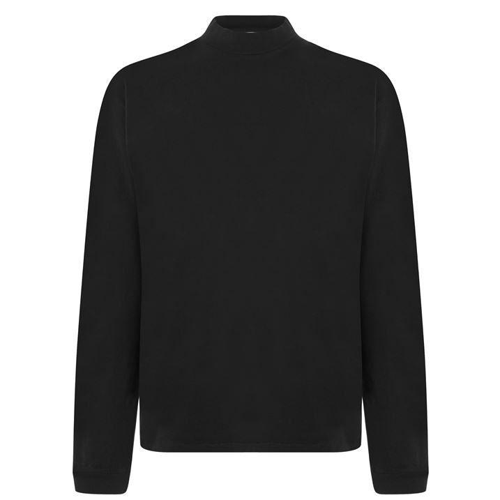 900s Long Sleeve Mock T Shirt