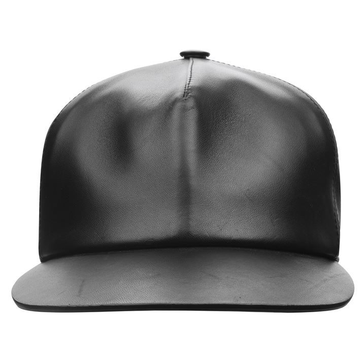 Leather Snapback