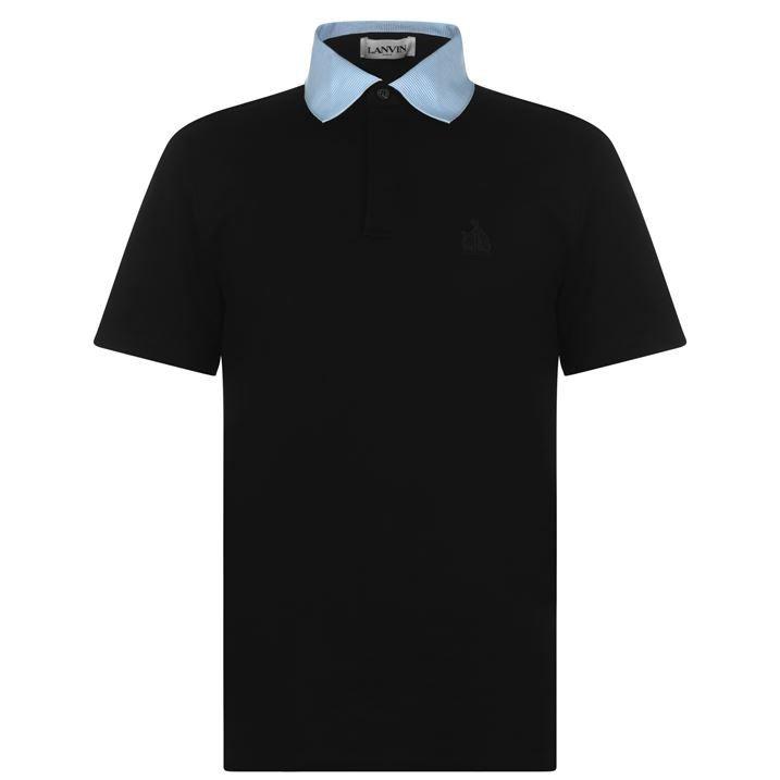 Grosgrain Short Sleeve Polo Shirt
