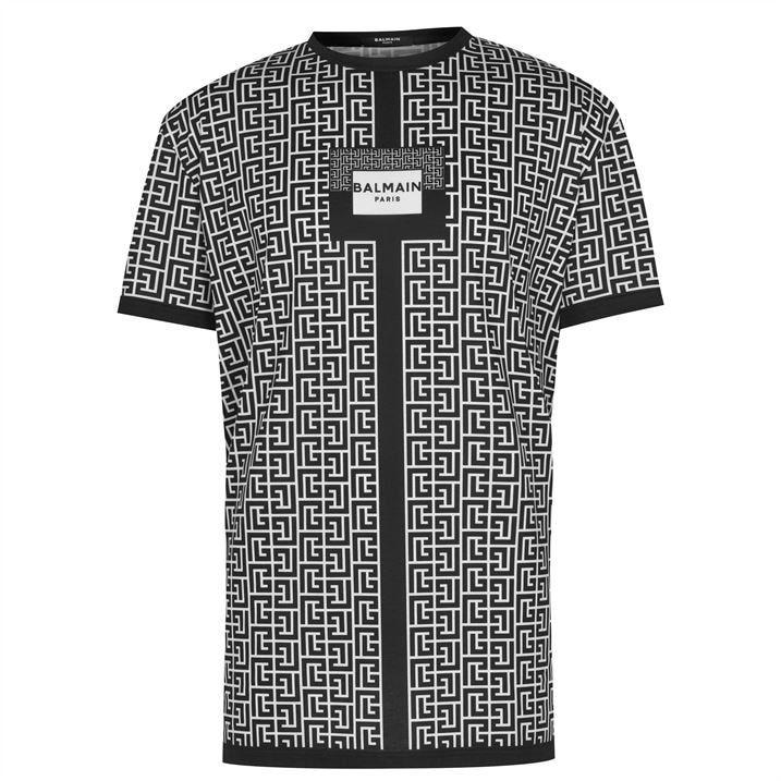 Oversized Graphic Print T Shirt