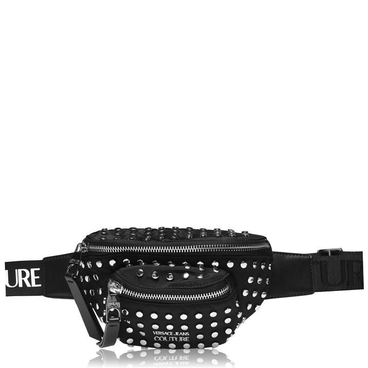 Studded Logo Belt Bag
