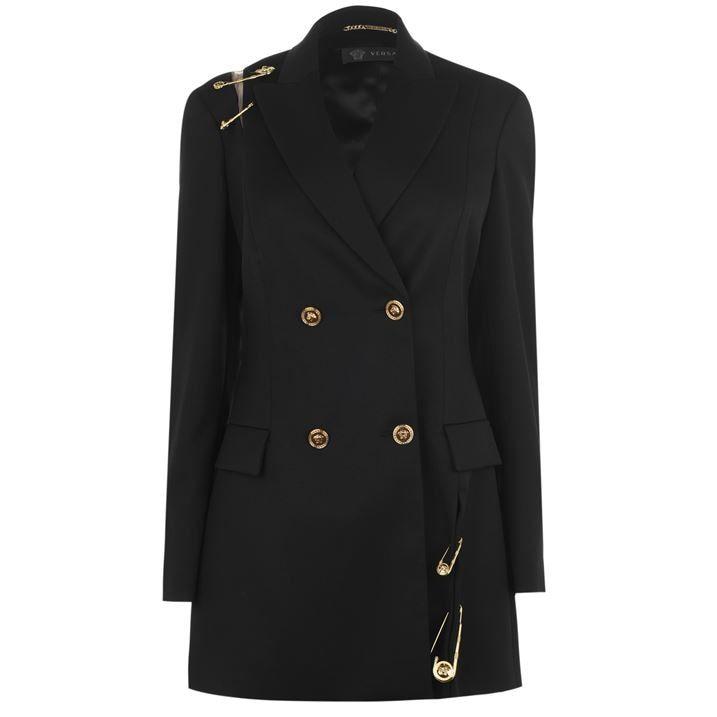 Safety Pin Wool Coat