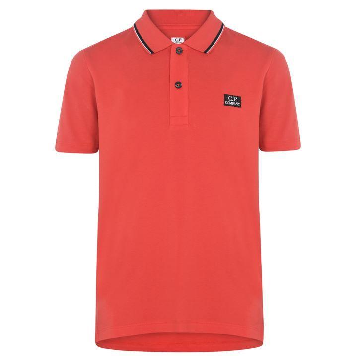 Junior Boys 672 Short Sleeve Polo Shirt