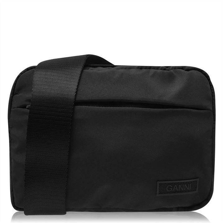 Tech Fabric Shoulder Bag