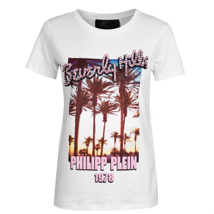 Beverly Hills Crystal T Shirt