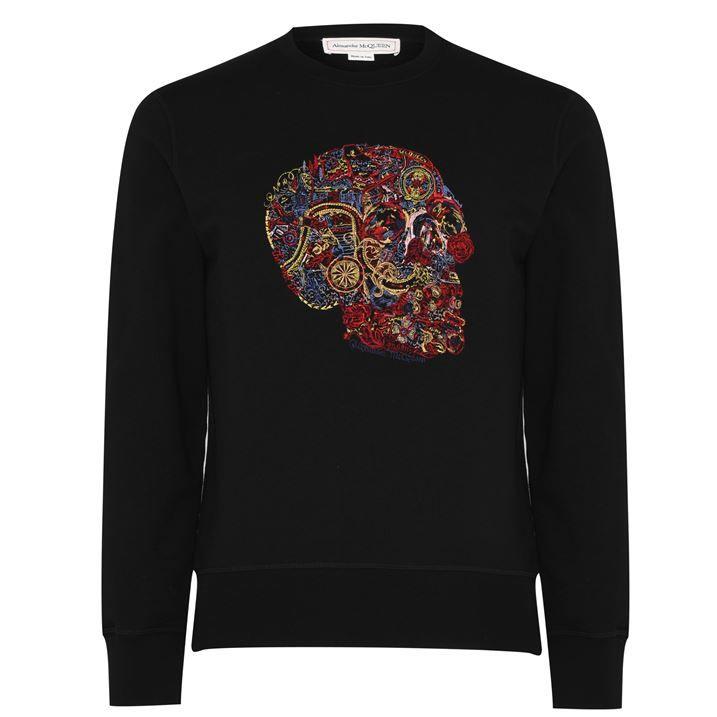 Skull Embellished Sweater