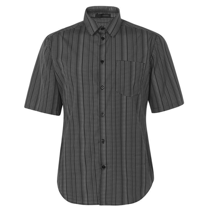 All Over Small Print Short Sleeved Shirt