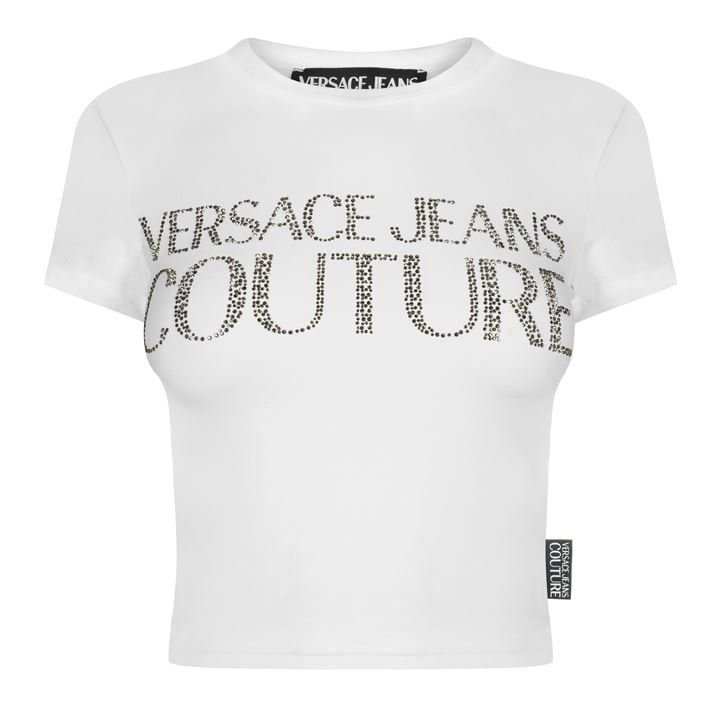 Crystal Crop T Shirt