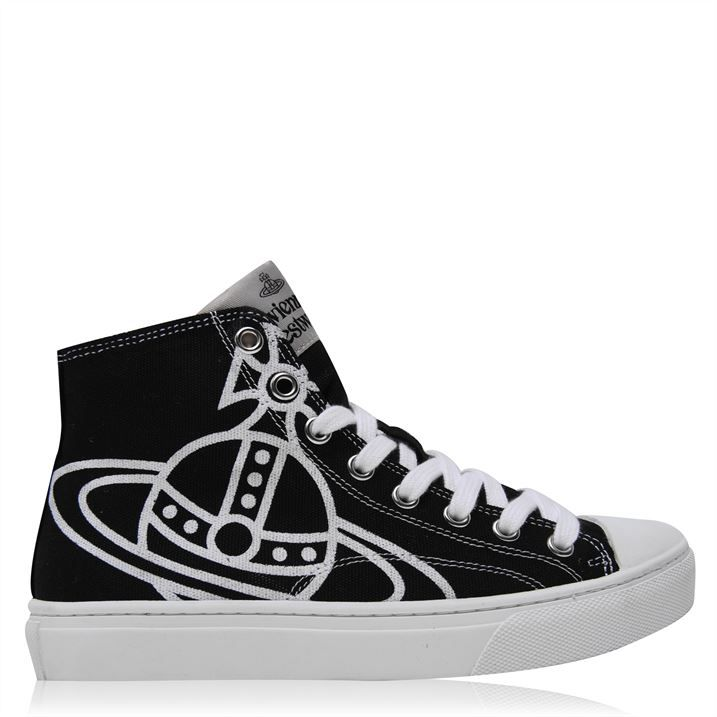 Plimsoll High Top Trainers