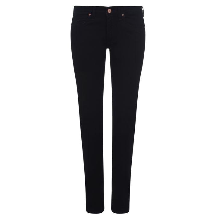 High Waisted Slim Jeans