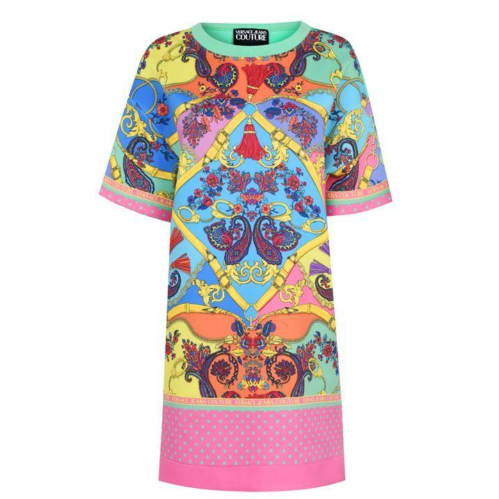 Colour T Shirt Dress