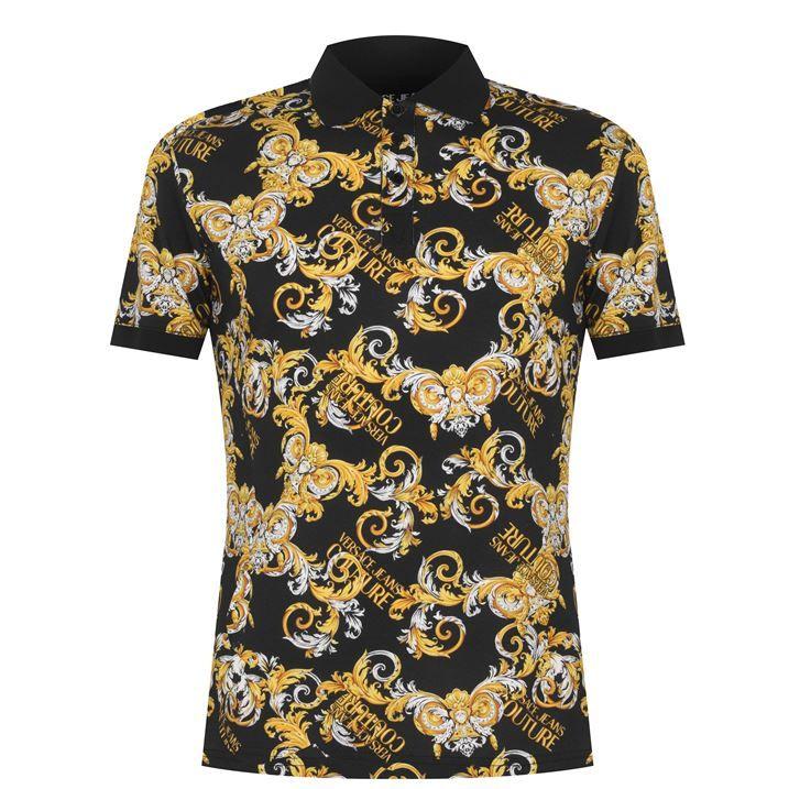 All Over Baroque Polo Shirt