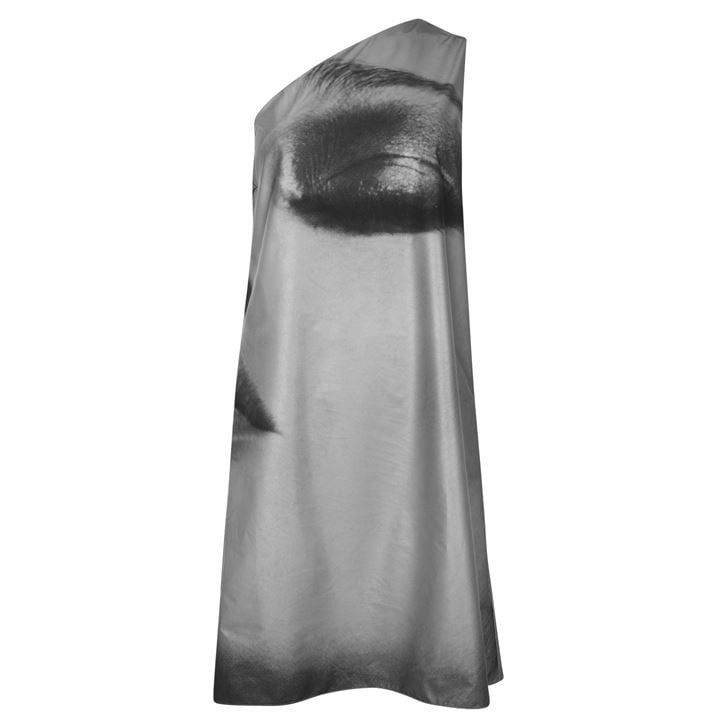 Mert And Marcus One Shoulder Dress