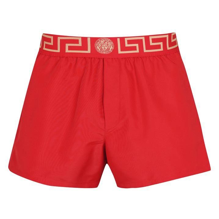 Greca Waistband Swim Shorts