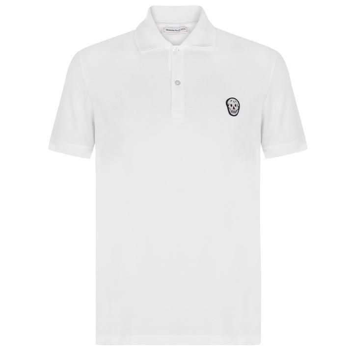 Logo Badge Pique Polo Shirt