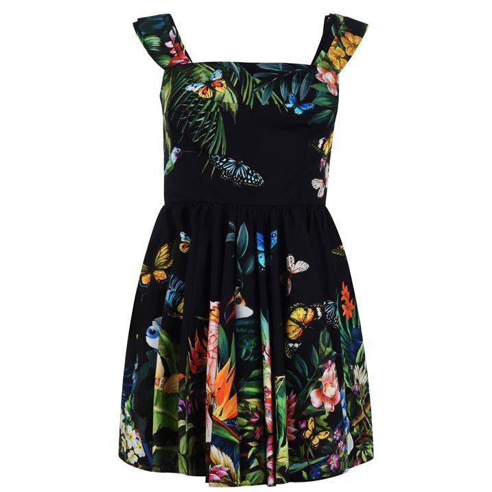 Jungle Poplin Dress