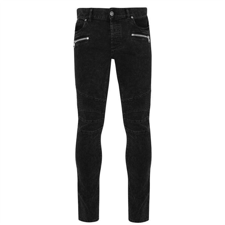 Ribbed Slim Jeans