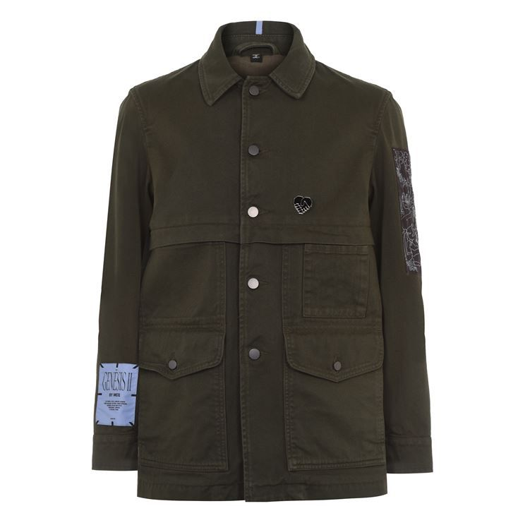 McQ Workers Jacket Sn04