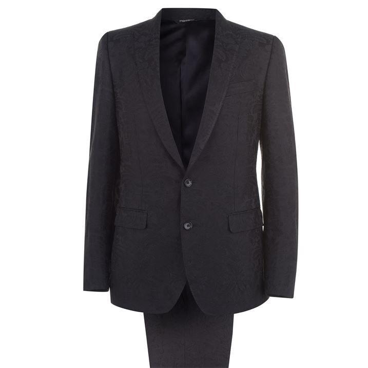 Martini Floral Jacquard Suit