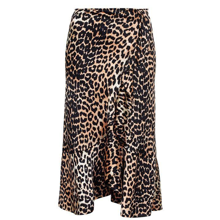 Silk Wrap Skirt
