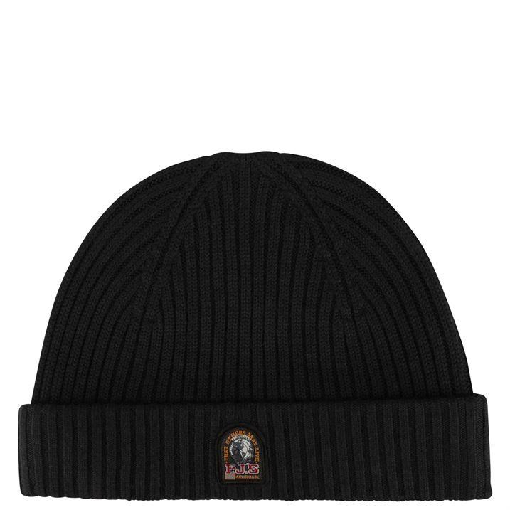 Rib Knitted Beanie Hat