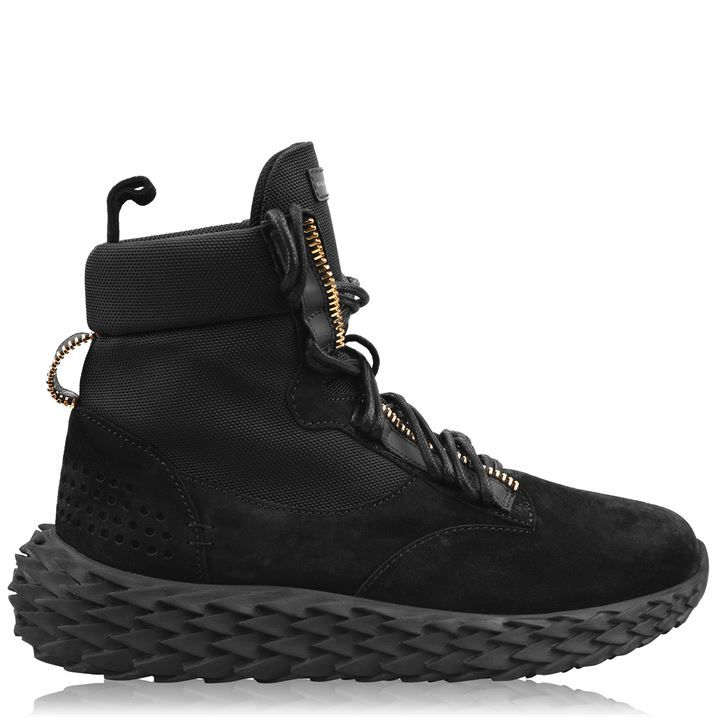 Urchin High Top Combat Trainers