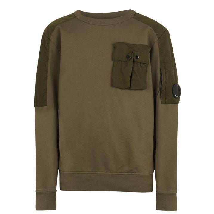 Junior Boys 864 Crew Neck Sweatshirt