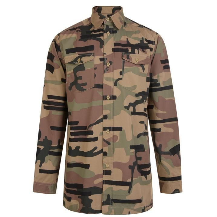 Camouflage Long Sleeve Shirt