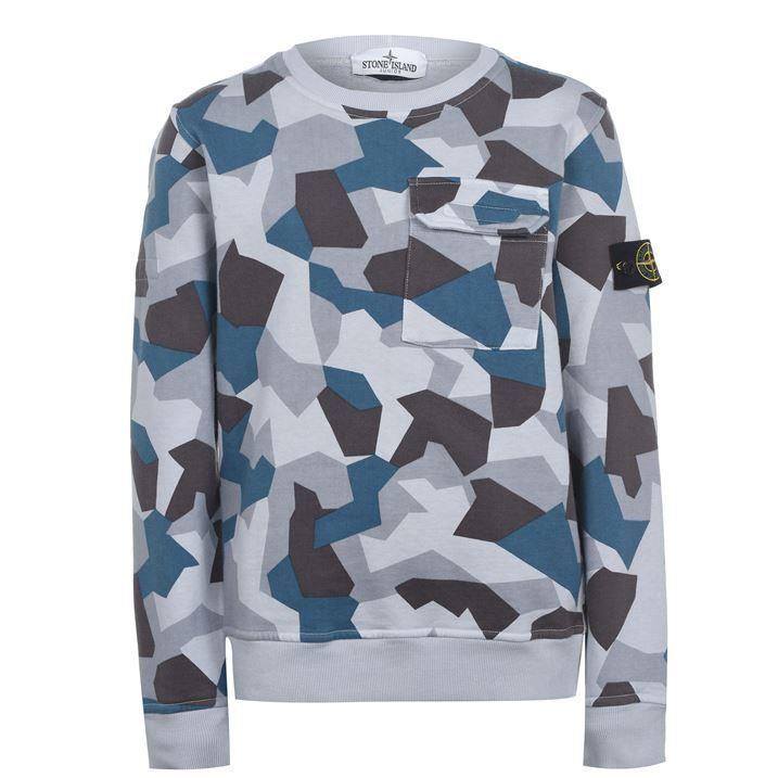 Junior Boys Camouflage Sweatshirt