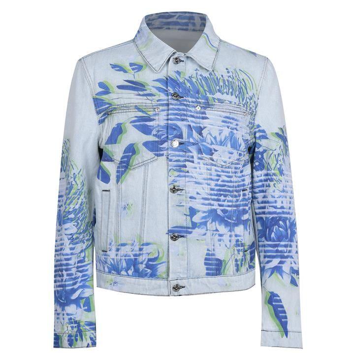Tech Flower Denim Jacket