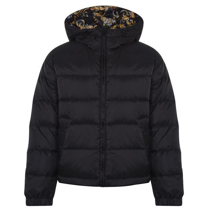 Reversible Baroque Puffer Jacket