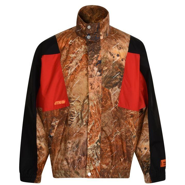 Camouflage Tracksuit Jacket